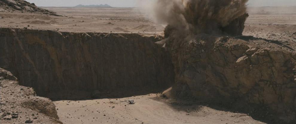 Взрыв в каньоне