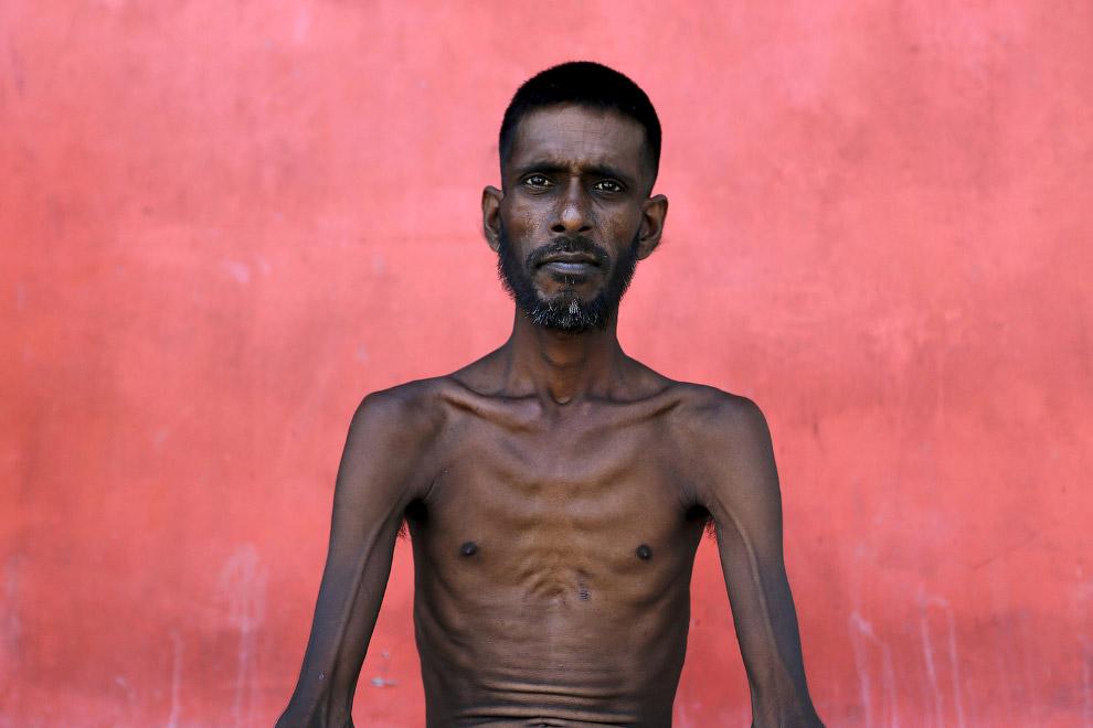 Мигрант из Бангладеша, прибыл в Индонезию