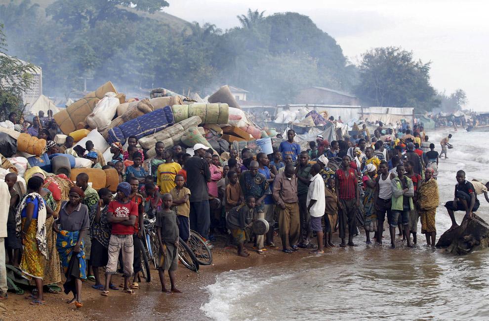 Бурундийские беженцы