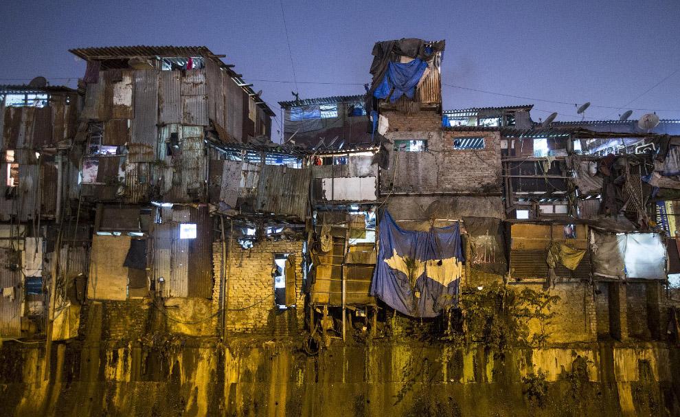 Трущобы Дхарави
