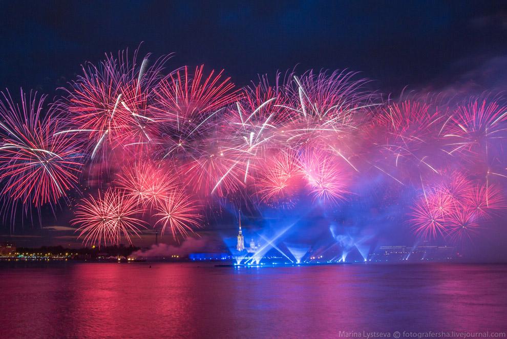 Алые паруса 2015 в Санкт-Петербурге