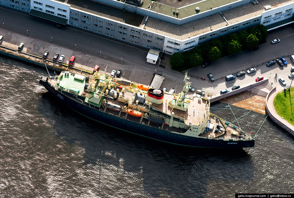Арктический ледокол «Красин», с 1980-х годов — судно-музей.