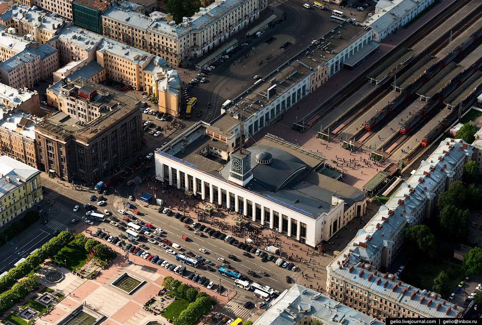 Финляндский вокзал.