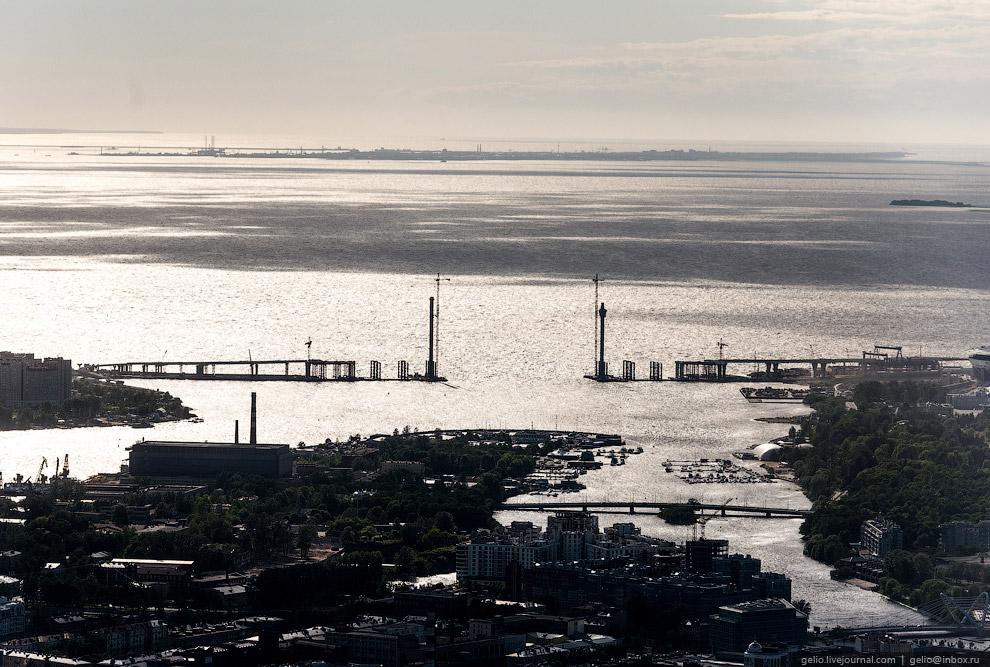 Длина моста составит 600 м из них 240 м центральный пролёт.