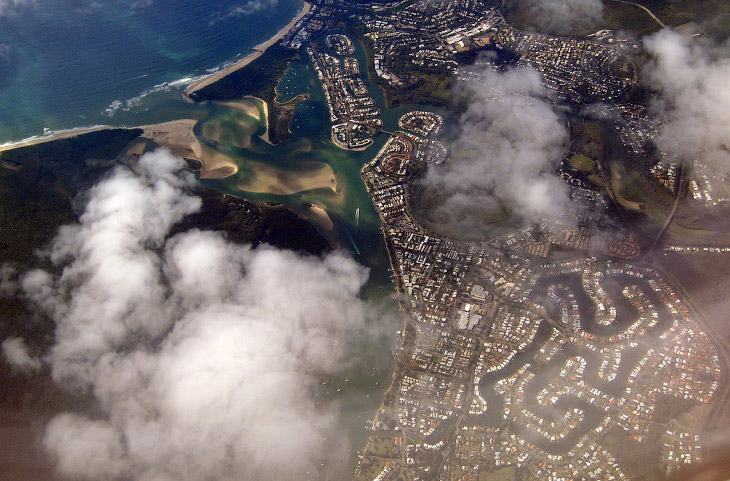 Восточное побережье Австралии. Городок Харви Бей