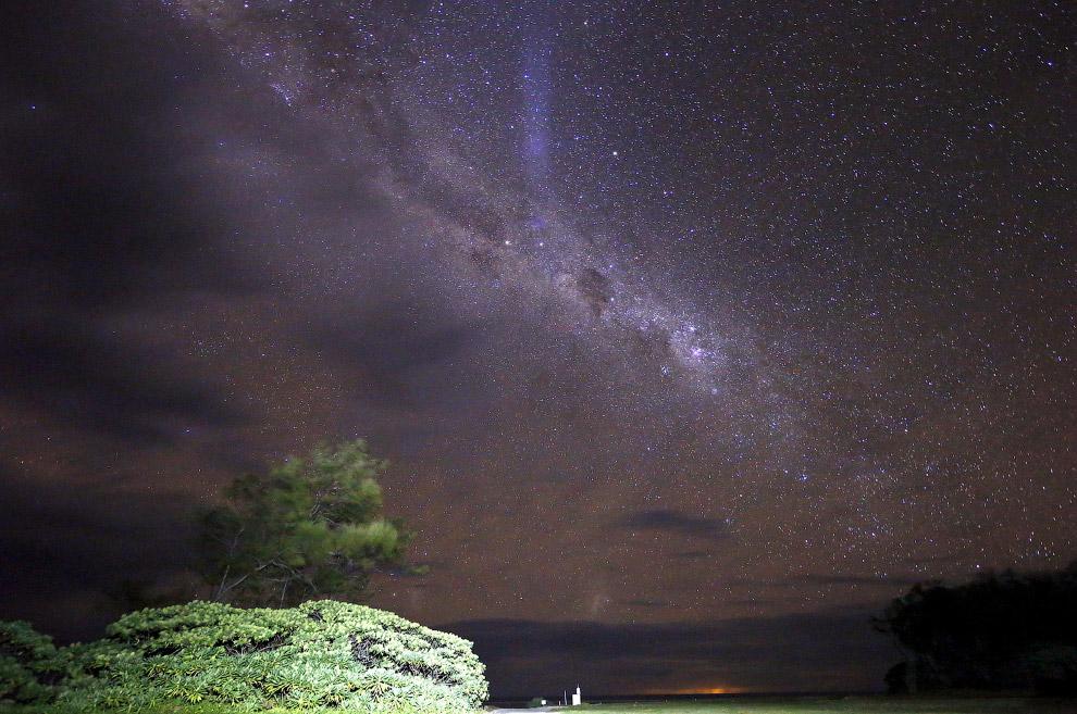 Млечный путь на острове Леди-Эллиот