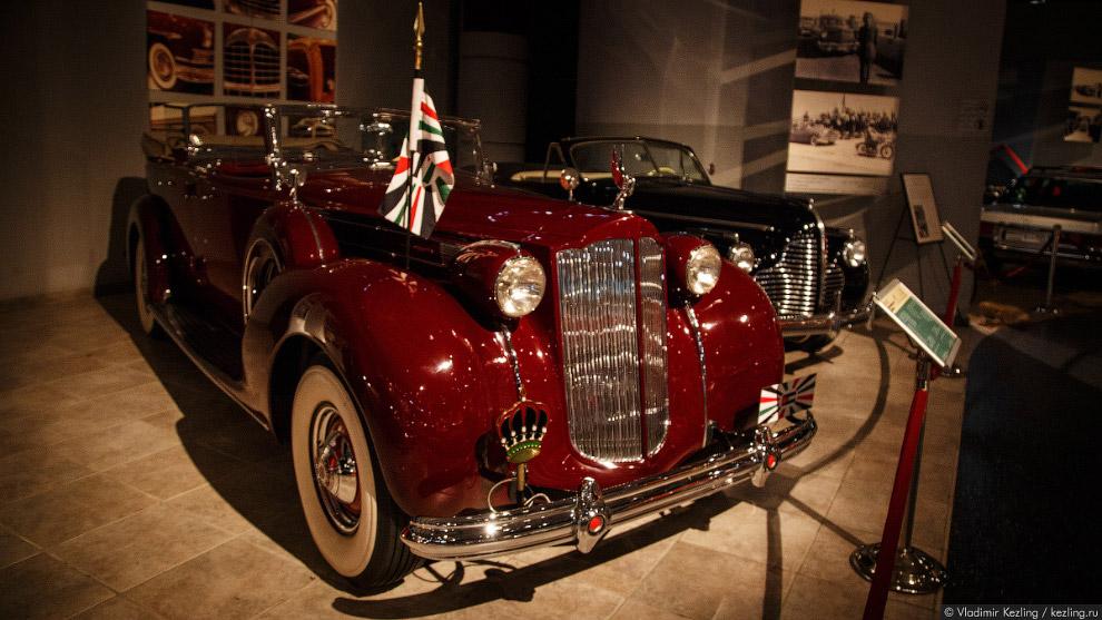 Packard Twelwe Dual-Cowl Phaeton