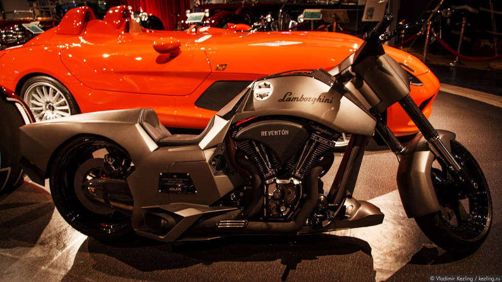 Bajzath Bike, Lamborghini type Reventon