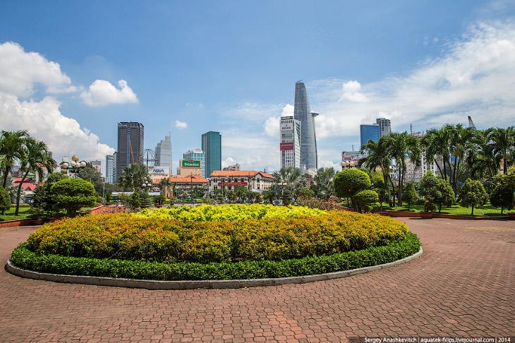 Caminhada em Saigon