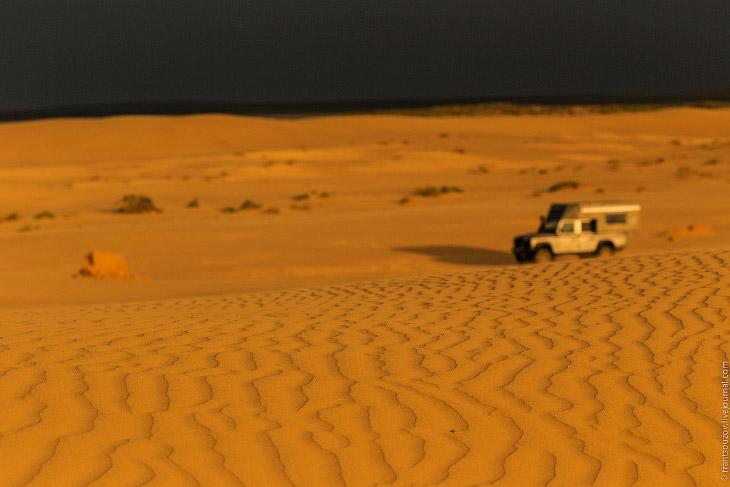 Аральское море: занесённые песком