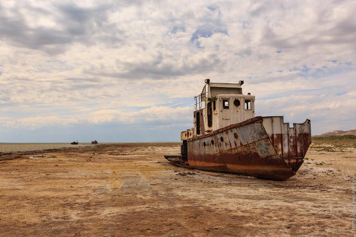 Кладбище кораблей на Аральском море