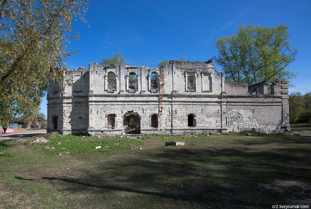 Остатки Вознесенской церкви