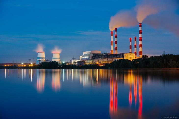 Как выглядит современная угольная электростанция