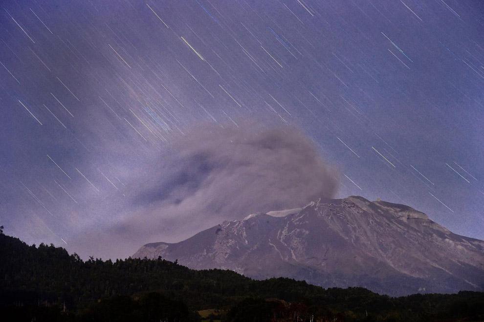Вулкан Кальбуко, Чили