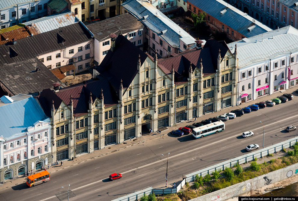 Бывший доходный дом С.М.Рукавишникова