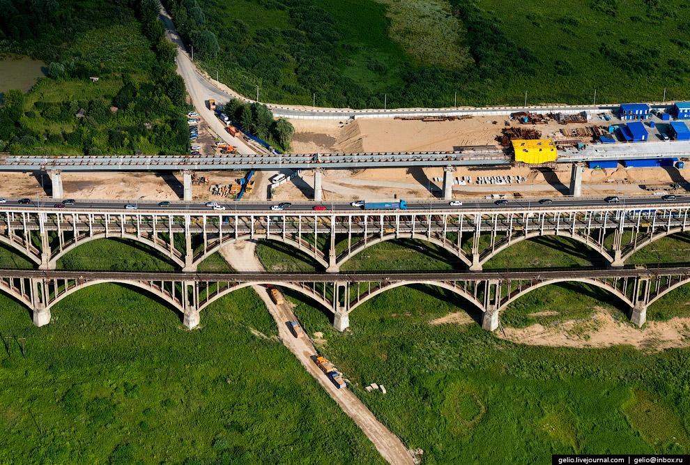 Борские мосты через реку Волгу и строительство нового волжского моста