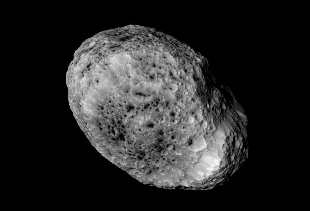 Гиперион - естественный спутник Сатурна