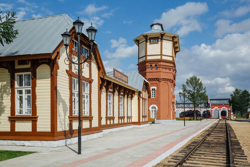 Современное московское депо