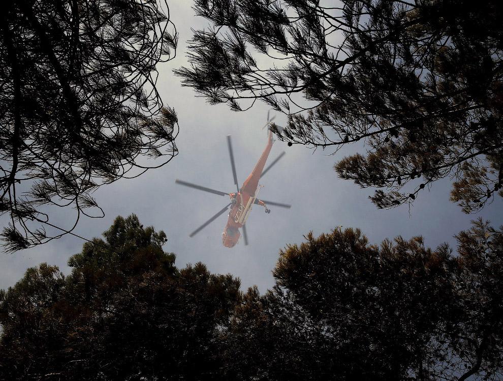 Пожарный вертолет Sikorsky CH-54 Tarhe