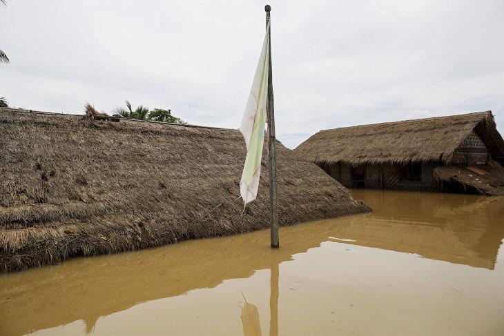 Рекордное наводнение в Мьянме