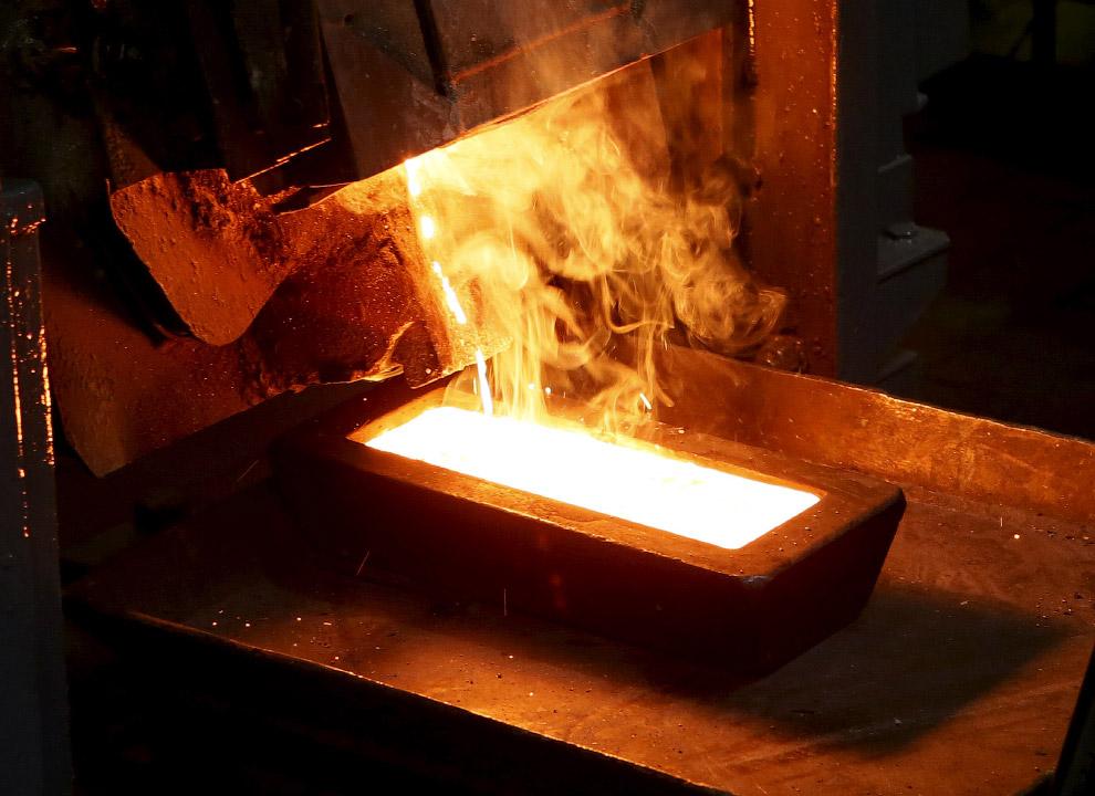 Выплавка сибирского золота