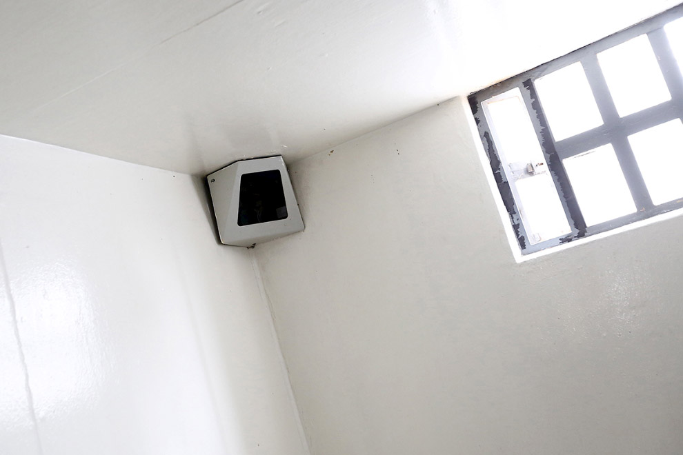 Видеонаблюдение в камере Эль-Чапо