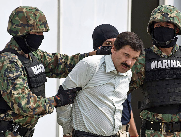 Хоакин Гусман Лоэра, он же наркобарон и миллиардер Эль-Чапо (Коротышка)