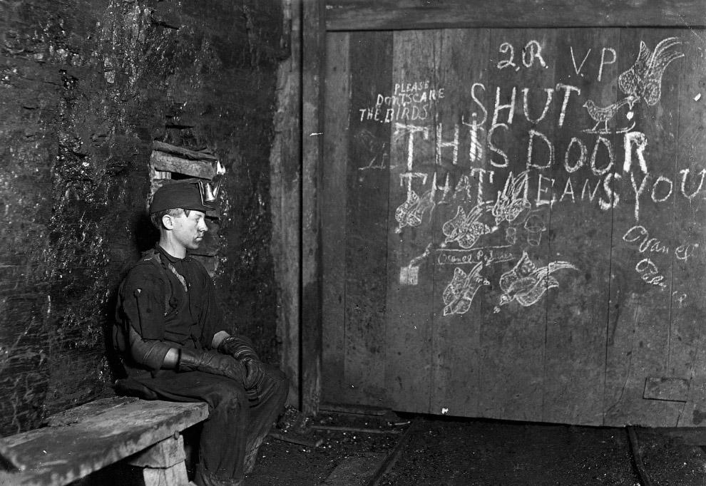 Рабочий угольной шахты