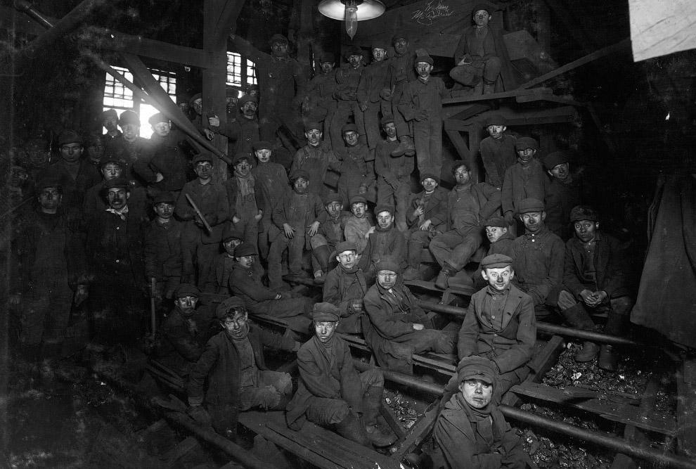 Полдень на угольной шахте