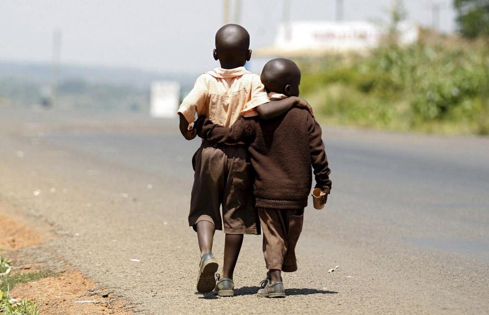 Деревня Когело, Кениия — родина предков Обамы