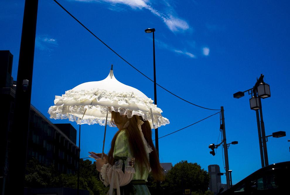 Жаркий летний день в Токио
