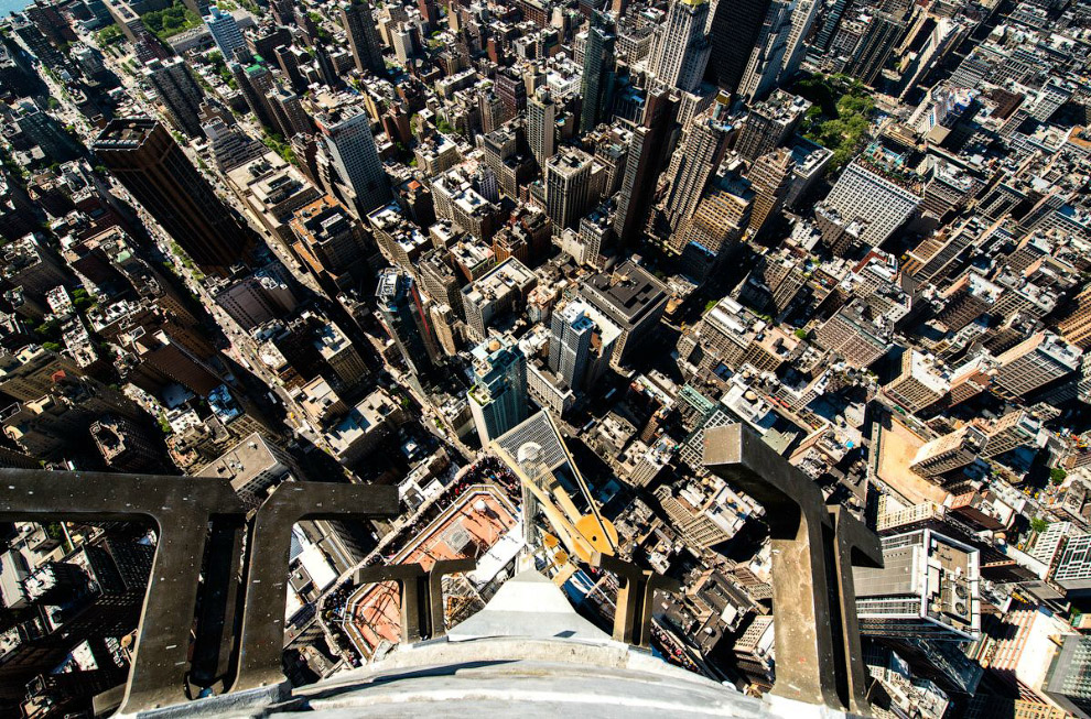Вид со 103 этажа Эмпайр-стейт-билдинг