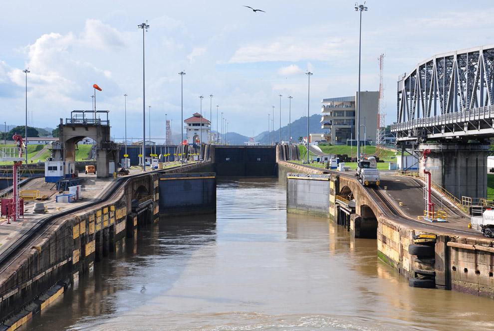 Шлюзы Тихоокеанского склона Панамского