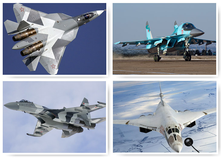 США: самые опасные боевые самолеты России