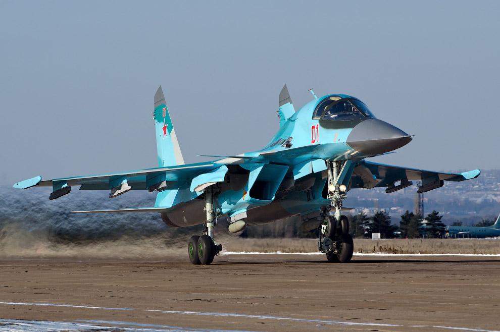 Су-34: