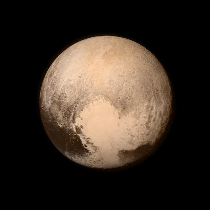 Новые Горизонты: первые снимки Плутона