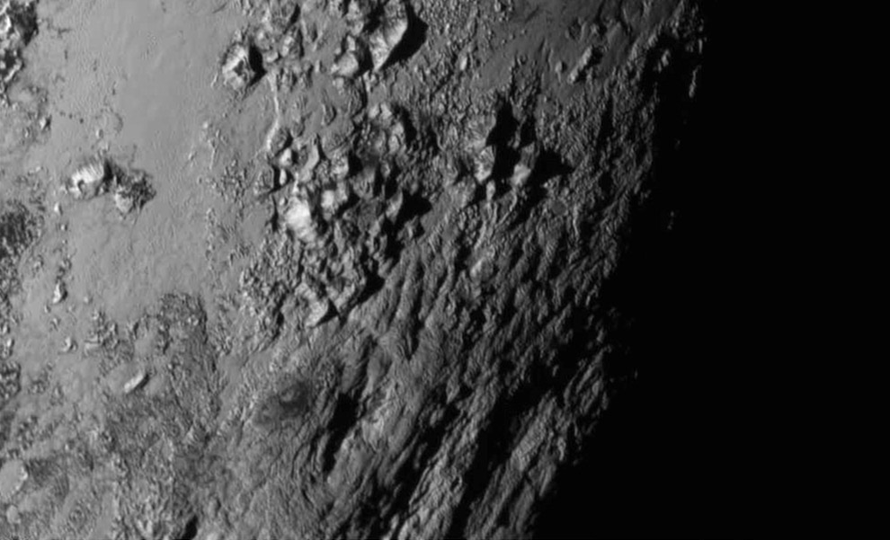 Это первая в истории фотография высокого поверхности Плутона