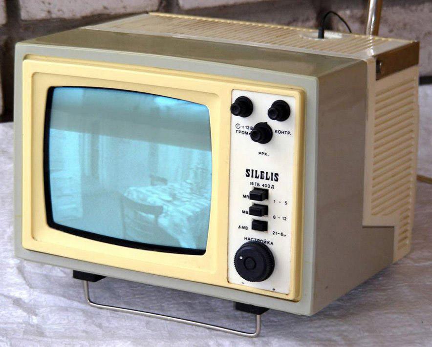 переносной телевизор «Шилялис»