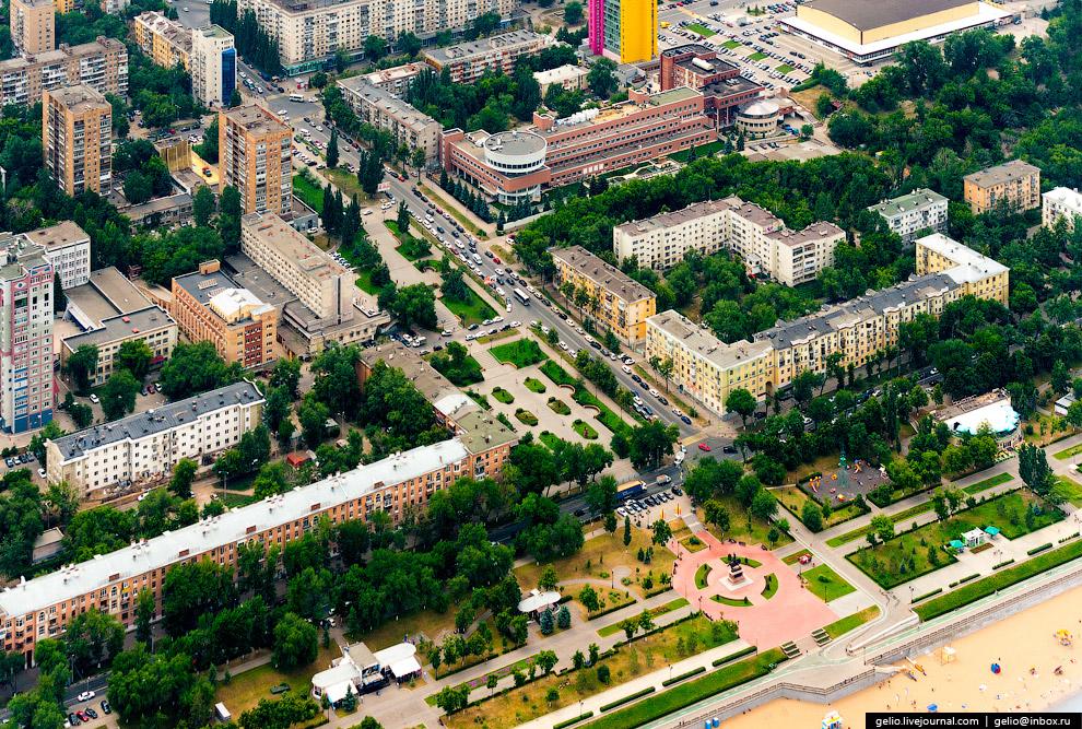 Сквер на Полевой улице.
