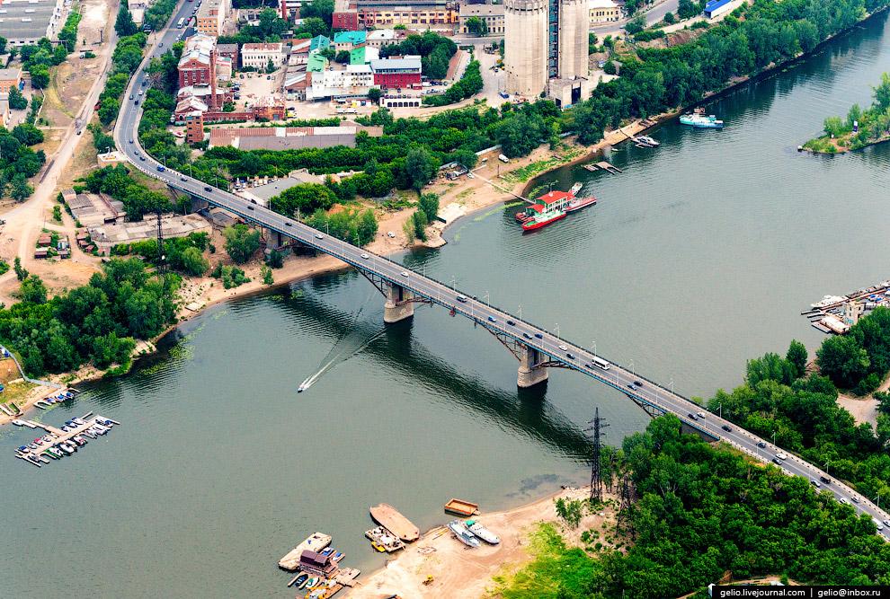 Автомобильный мост через р. Самара.