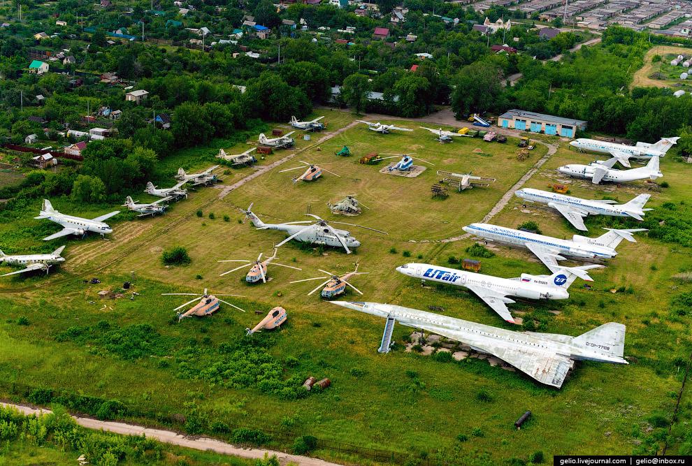 Учебный аэродром Самарского государственного аэрокосмического университета.