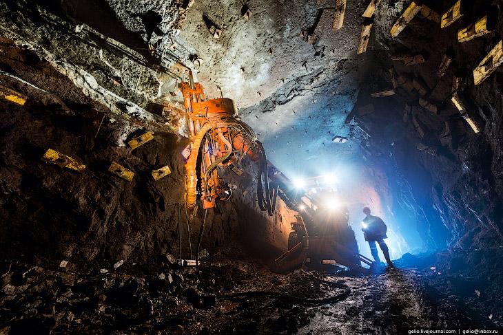 Самая глубокая шахта в России