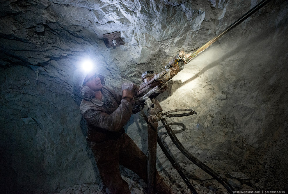 Бокситы североуральских шахт