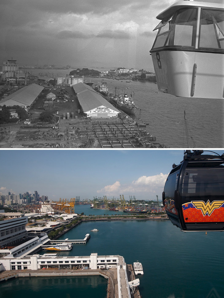 Сингапур 15 февраля 1974 года и 11 мая 2015