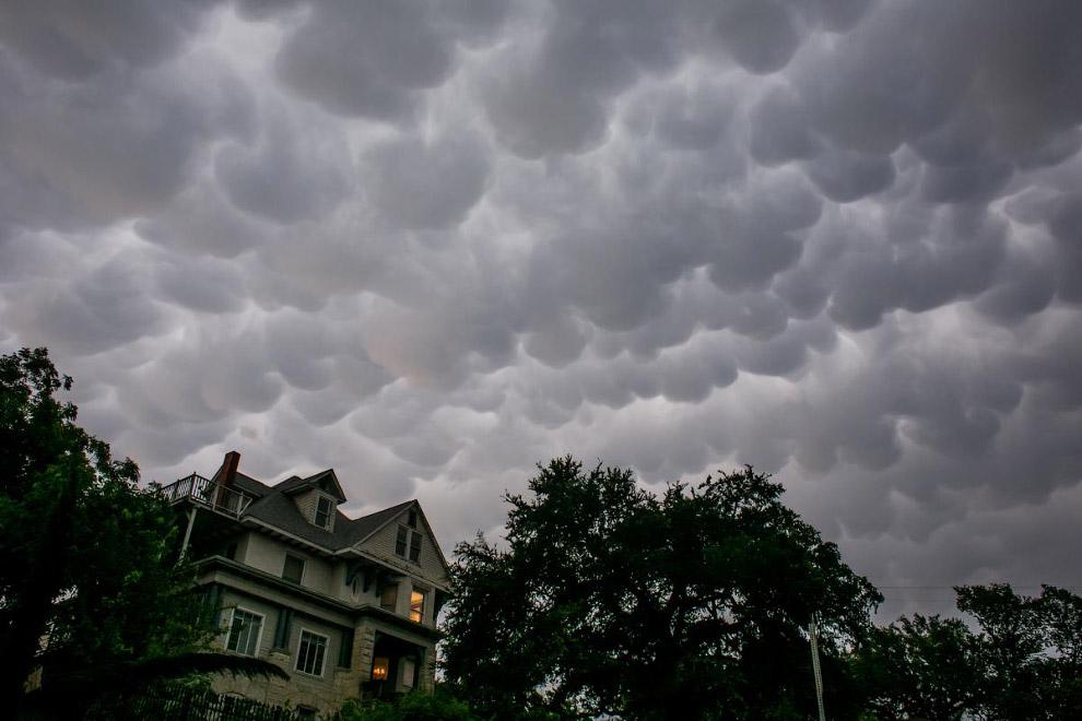 Зловещее небо в штате Техас