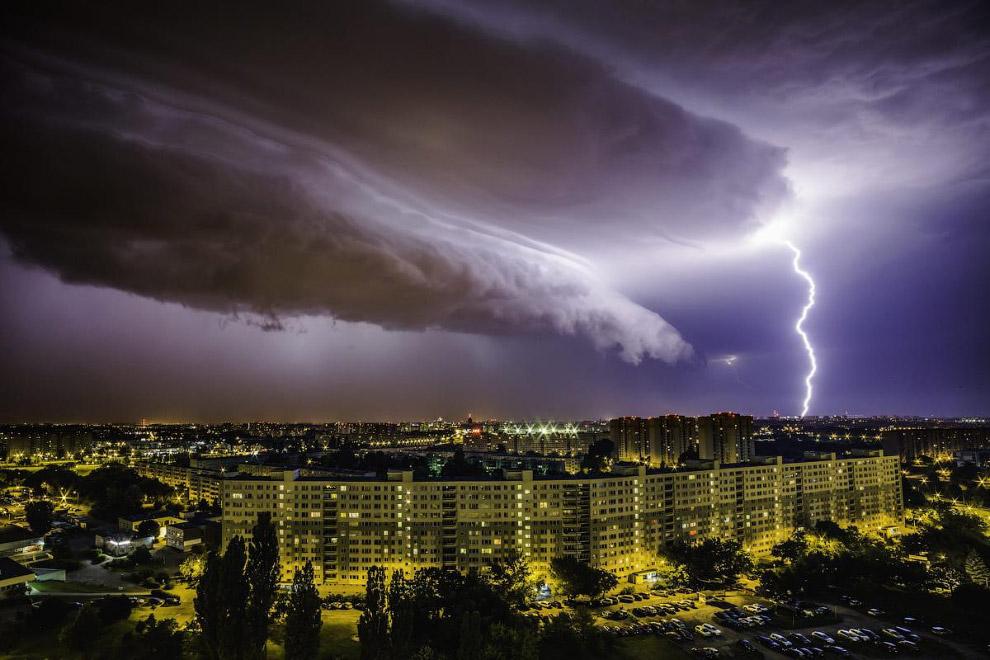 Грозное небо в Польше