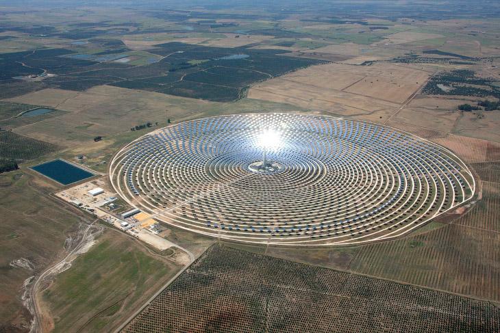 Gemasolar — солнечная электростанция в Испании
