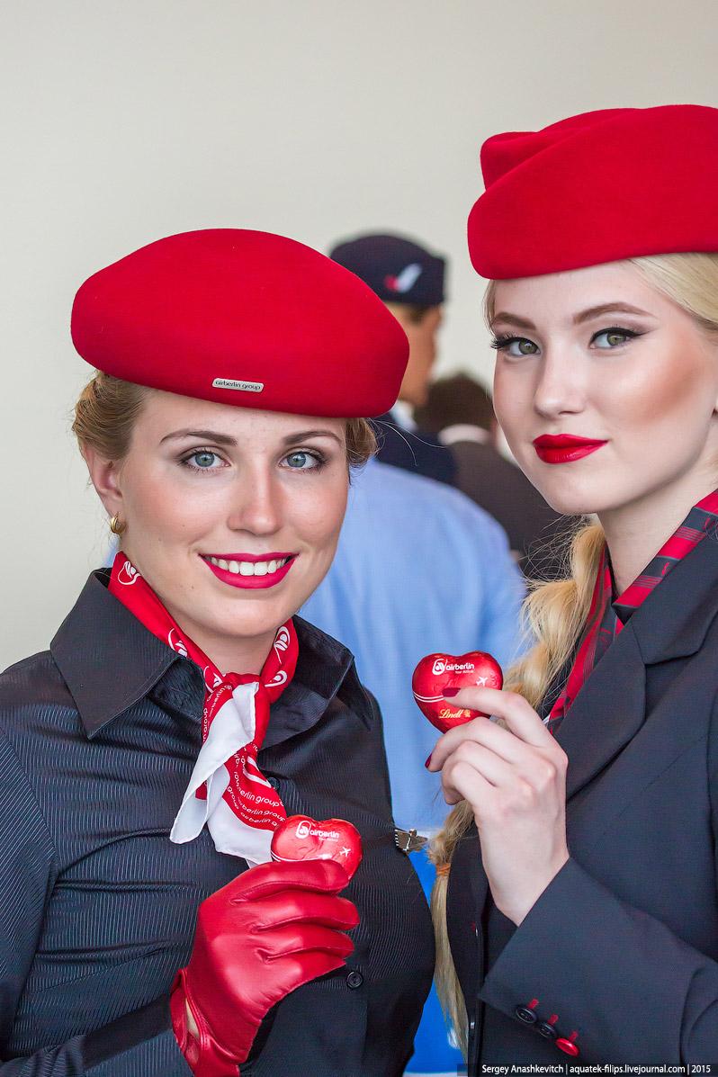Сердечки от Air Berlin