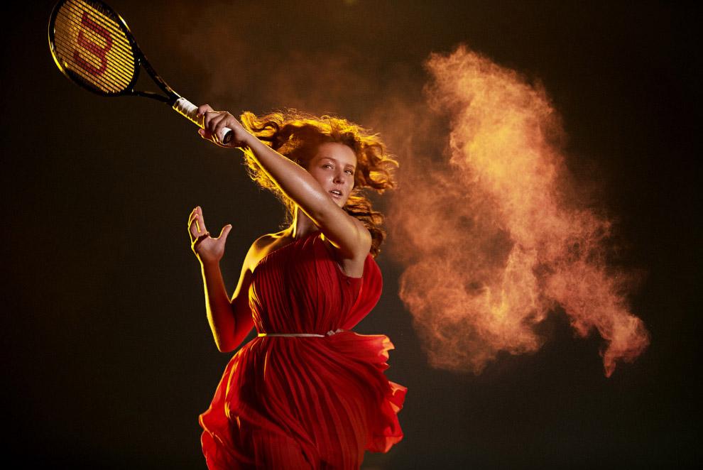 Лора Робсон — британская профессиональная теннисистка