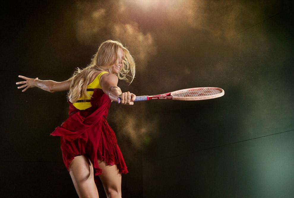 Российская теннисистка и телеведущая Елена Дементьева